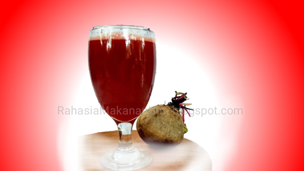 Minuman Rahasia Untuk Penambah Darah Rahasia Masakan Umi