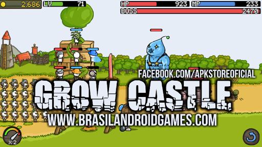 Grow Castle Android Imagem do Jogo