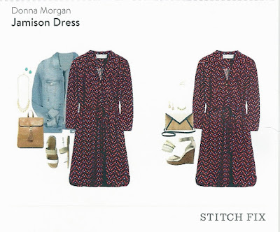 Stitch Fix March 2016 - Donna Morgan Jamison Dress