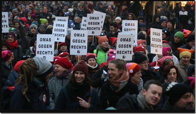 Omas gegen rechts 13.1.2018