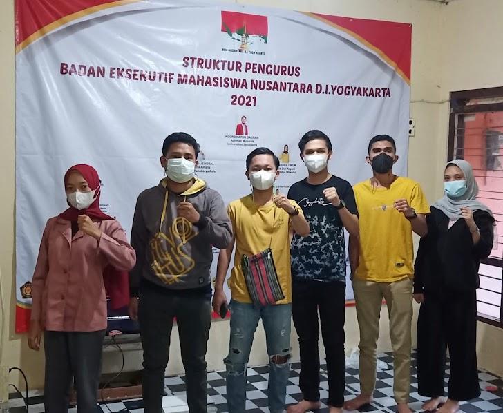 Covid 19 Makin Meningkat, BEM Nusantara DIY Bangun Sinergitas Dengan Semua Lini