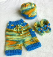 Candy Shop Boy Shorties, Newborn - 3 Month Size