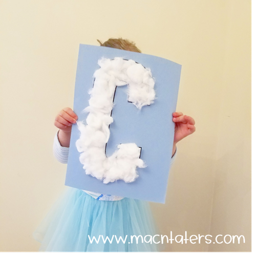 C is for Cloud Letter Craft
