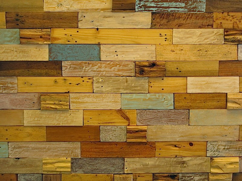 a wooden wall at The Breakfast Table