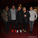 OIC - ENTSIMAGES.COM - Dee Kartier, Young Artz, Jovian Wade and Parcelle Ascott at the  Mandem on the Wall: Wall of Comedy - premiere in London 17th November 2015 Photo Mobis Photos/OIC 0203 174 1069