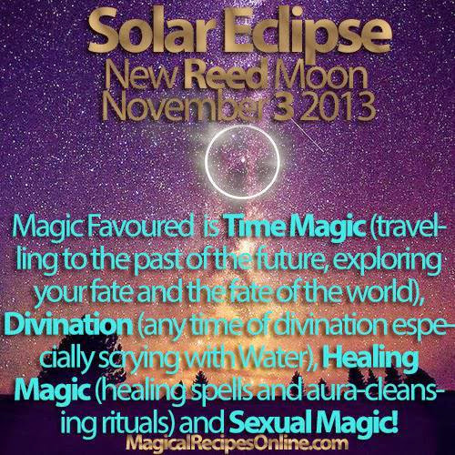 Planet Vibes Solar Eclipse November 3 2013 New Reed Moon In Scorpio