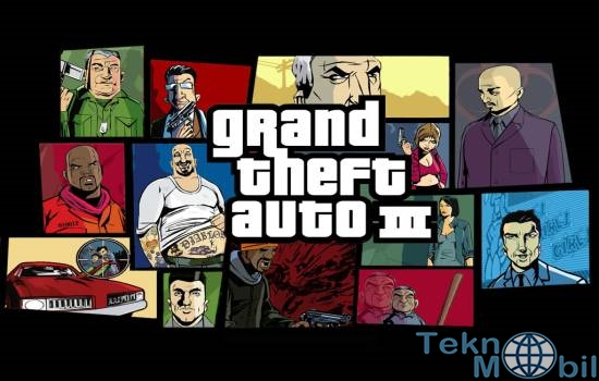 Grand Theft Auto III v1.6 Full APK