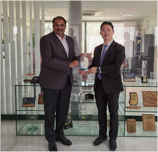 President Huawei Middle East Region Charles Yang