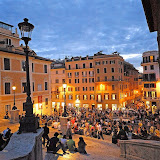 7. Spanish Steps. Piazza di Spagna. Rome. 2006
