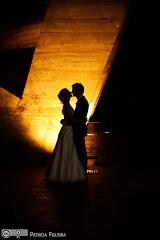 Foto do casamento de Tamara e Bruno. Museu de Arte Moderna (MAM), Rio de Janeiro, RJ.