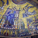 93. Mosaic of Christ Pantokrator. XIII Century. The Basilica of Sant'Ambrogio. Milan. 2013