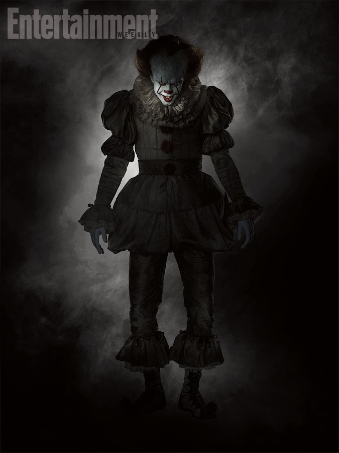 Bill Skarsgård as Pennywise the Clown in IT