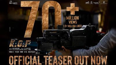Reason for KGF chapter 2 Teaser Hitting 1 Billion View