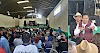 Con cientos de personas y sin sana distancia Joel Molina hace campaña para Gobernador
