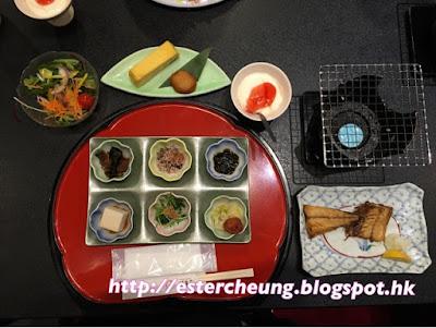 【名古屋。静岡西自由行】豐盛傳統的日式早餐 ♥ 館山寺開華亭 ...