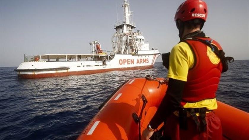 Proactiva Open Arms rescatará migrantes en el Mar de Alborán