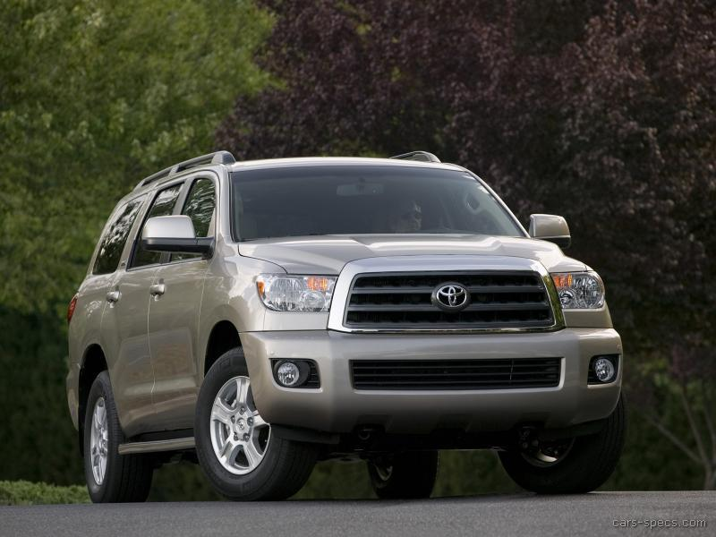 2008 toyota sequoia suv specifications pictures prices. Black Bedroom Furniture Sets. Home Design Ideas