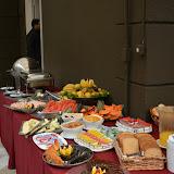 Café da manhã Projeto Âncora