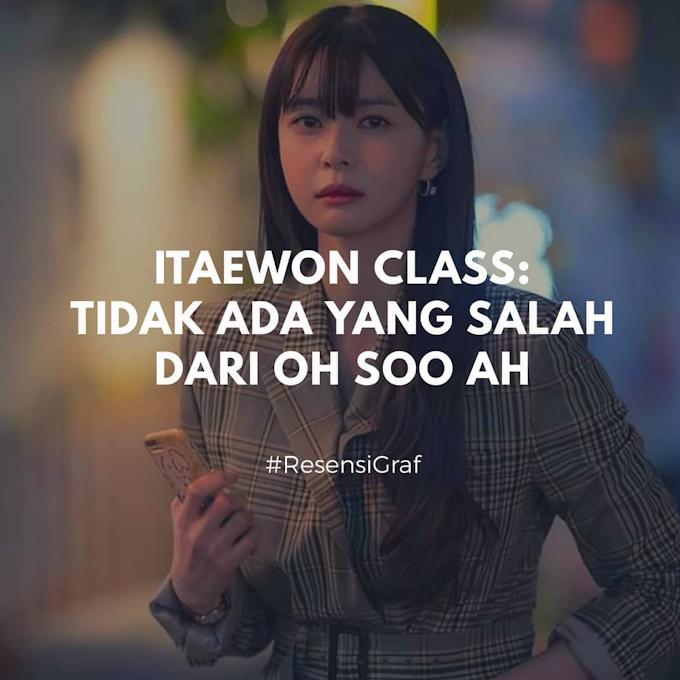 Tidak Ada yang Salah dari Oh Soo Ah Itaewon class