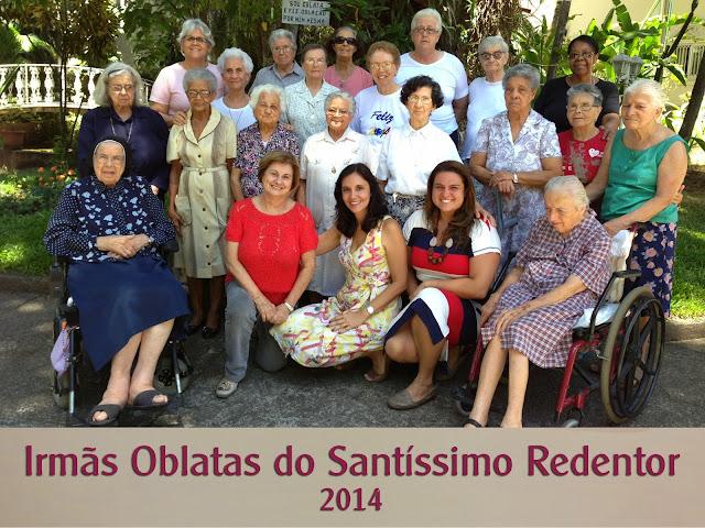 Irmas Oblatas do Santissimo Redentor 2014