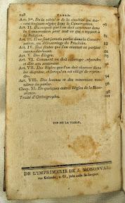 Pie de imprenta al final del libro