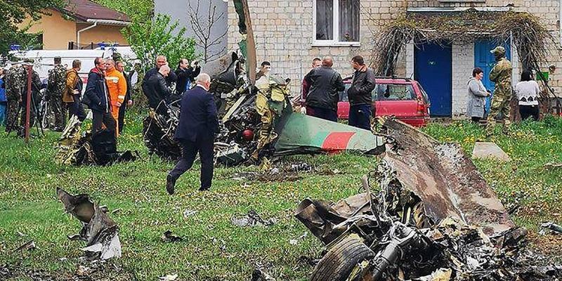 Jet Militer Belarusia Jatuh Di Dekat Pemukiman Warga, Dua Pilotnya Tewas