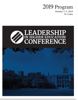 Leadership in Higher Education 2019 Program