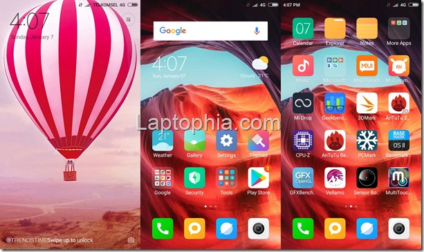 Software & Fitur Xiaomi Redmi Note 5A