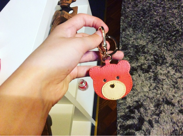 furl key chain cute