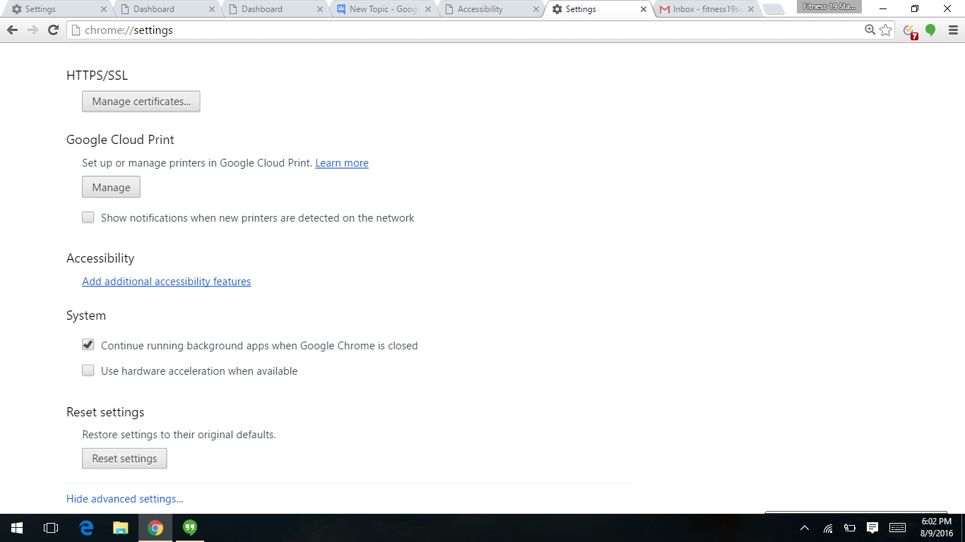 On Screen Keyboard is not disabling on chrome  How can I