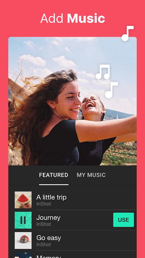 Screenshots of Video Editor Music,Cut,No Crop for iPhone