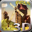 Paper Windmills 3D Free lwp icon