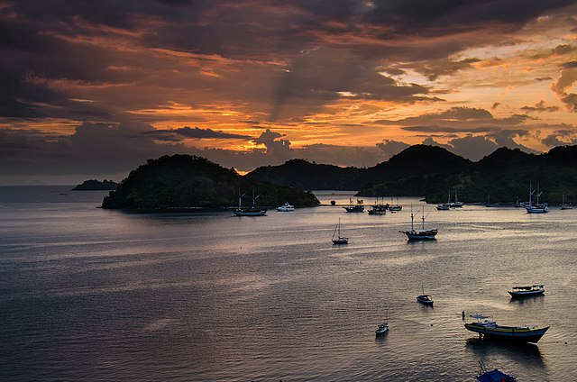 A Labuan Bajo Sunset