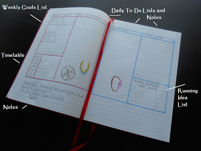 My Ultimate Bead Idea Planner