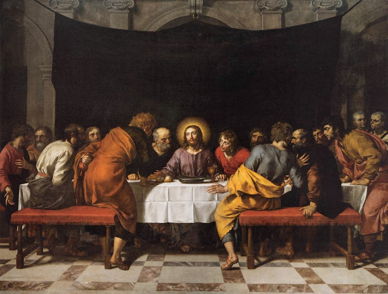 Frans Pourbus the Younger - The Last Supper.