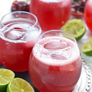 Sparkling Pomegranate Margaritas