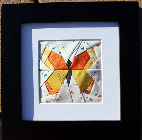 paper pieced butterfly for teacher gift
