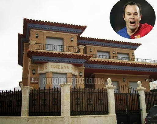 photo: house/residence of cool clever  86 million earning Barcelona-resident