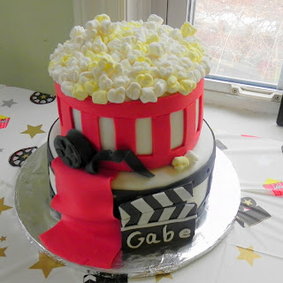 Excellent Gabes Movie Theme Birthday Cake Momma D And Da Boyz Funny Birthday Cards Online Kookostrdamsfinfo