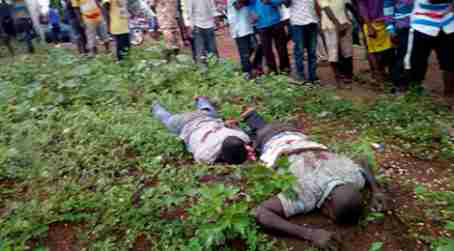 Photos: Armed Robbers Meet Untimely Death As They Rob Residence Of Benue