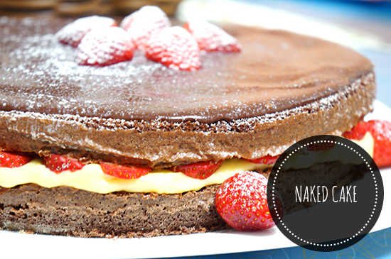 Casual Sunday: Naked Cake