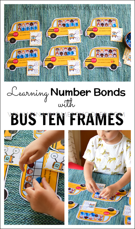 Learning Number Bonds with Ten Frames