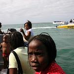 Embarcation pour rejoindre le ferry