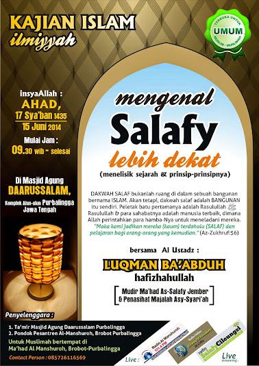 Mengenal Salafy Lebih Dekat