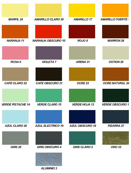 Tu my pin tu color for Muestrario de pinturas