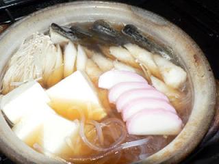 ハタハタ干物鍋