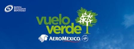 Primer Vuelo Verde Transcontinental Sale de México