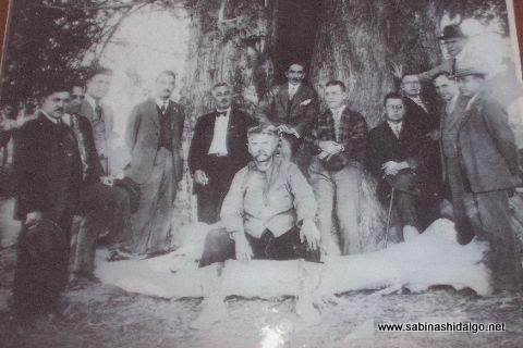Alfredo Ramos Martínez en la Hacienda Larraldeña