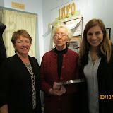 Sue William, Nancy Salo, West Bloomfield Supervisor Michele Ureste