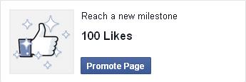 Facebook ads: Promote page service